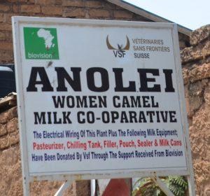Anolei women cooperative run by Somali women in Isiolo